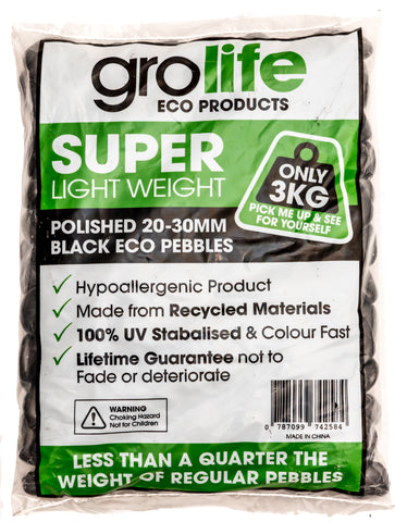 Image of Grolife Eco Pebbles - Black