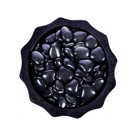 Image of Grolife Eco Pebbles - Black - Pallet (210) - Grolife Eco Products