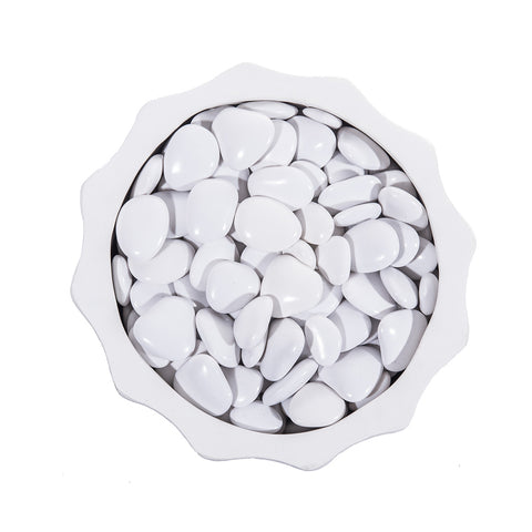 Image of Grolife Eco Pebbles - White- Pallet (210) - Grolife Eco Products