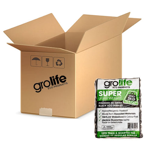 Grolife Eco Pebbles - White - Carton (5)