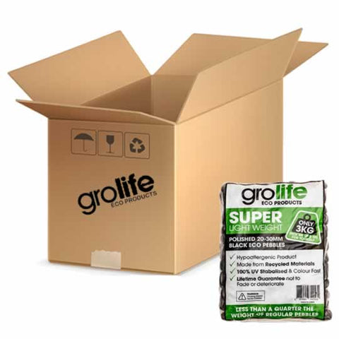 Image of Grolife Eco Pebbles - Black - Carton (5)