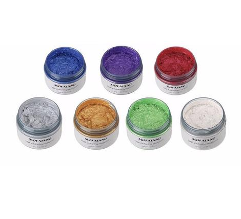 7 Rainbow Colors - Unicorn Hairwax