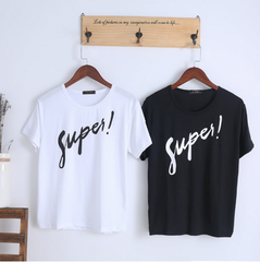 Super Printed Women Tshirt