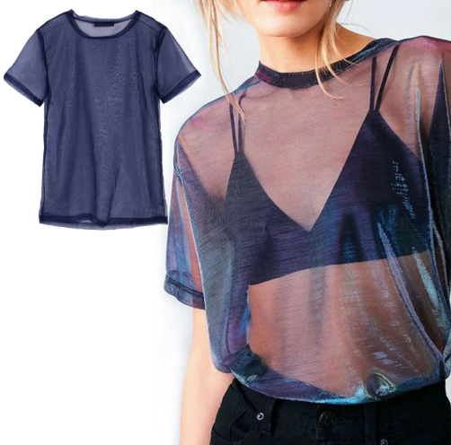 Perspective Shine Casual Top - Shopcept.com