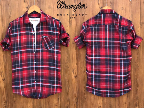 Wrangler Check Shirts - Shopcept.com