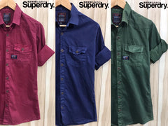 Superdry Denim Shirts