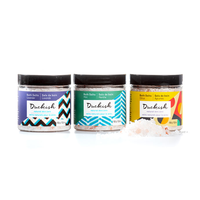 Bath Salt Bundle | Duckish Natural Skin Care