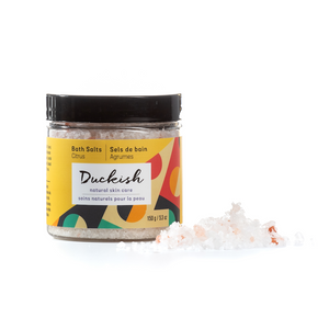 Citrus Bath and Foot Salts | Duckish Natural Skin Care