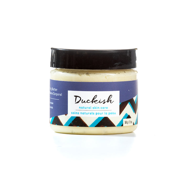 Lavender Body Butter 2oz | Duckish Natural Skin Care