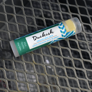 All-Natural Mint Lip Balm | Duckish Natural Skin Care