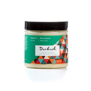 Tea Tree Body Butter Cream 4oz | Duckish Natural Skin Care
