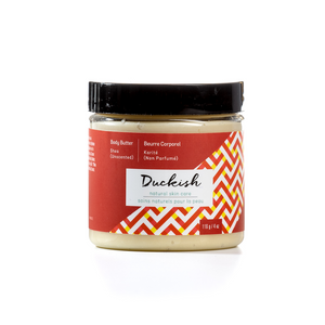 Shea (Unscented) Body Butter 4oz | Duckish Natural Skin Care