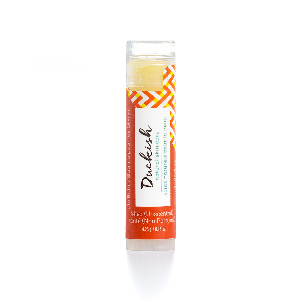 All-Natural Unscented Lip Balm | Duckish Natural Skin Care