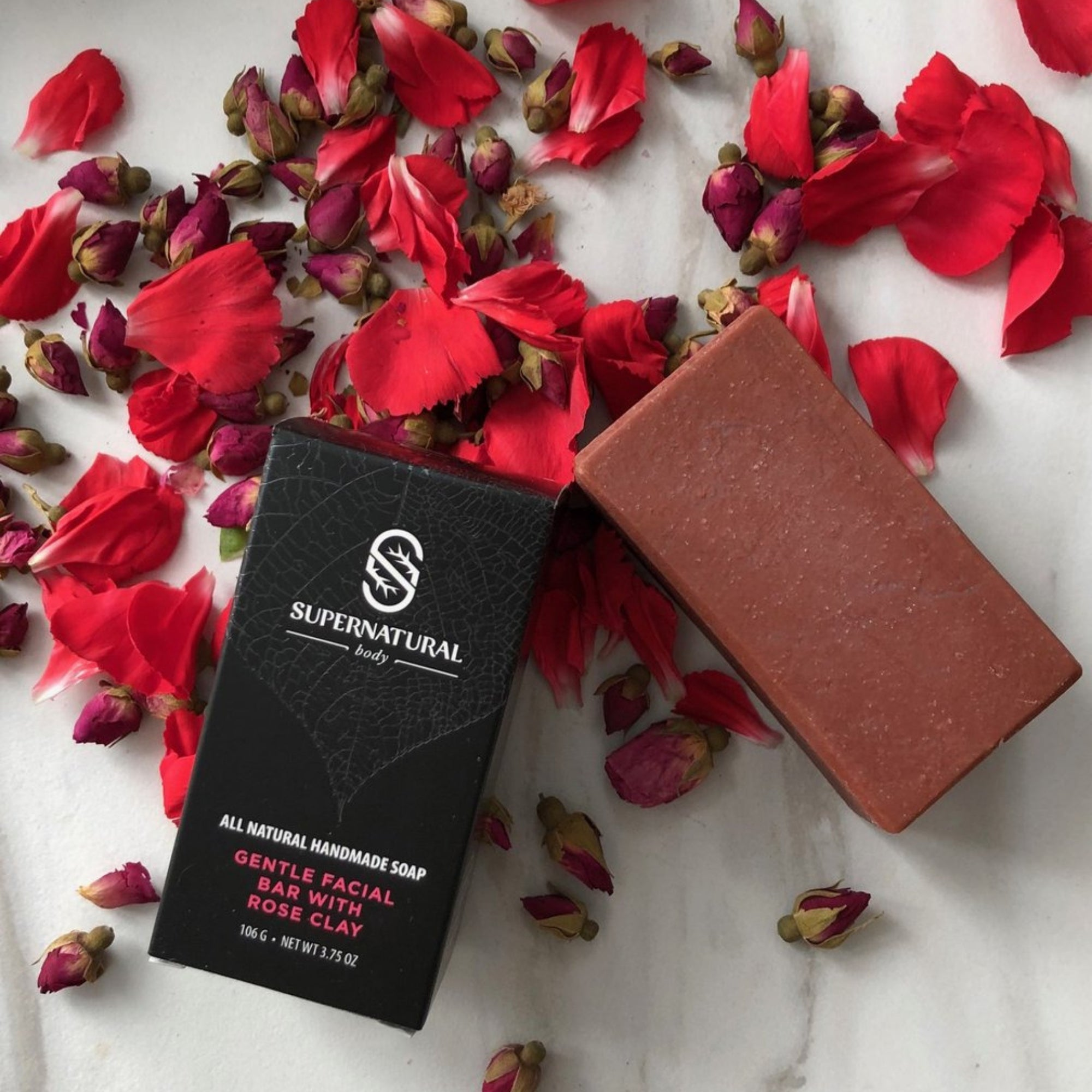 Rose Clay Facial Cleansing Bar