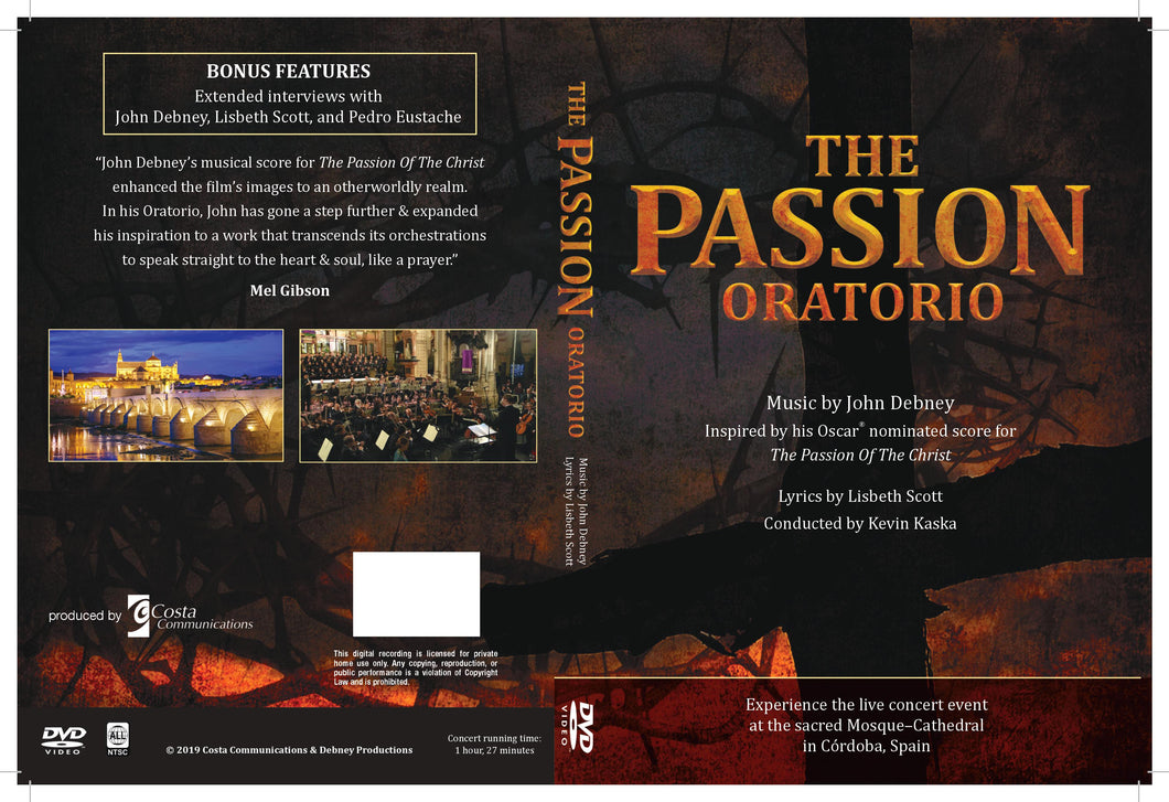 The Passion Oratorio:  A live concert Event (DVD)