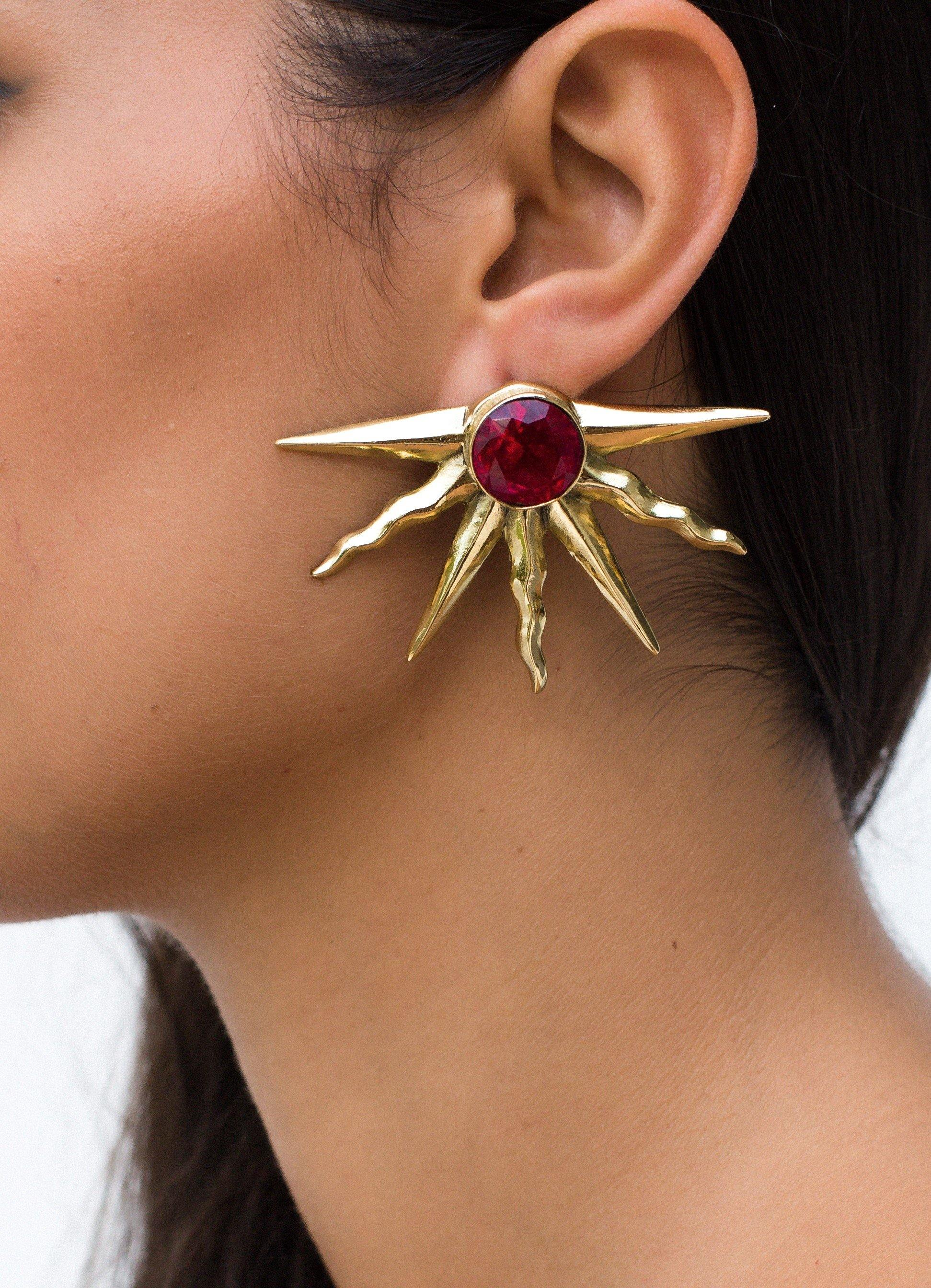 Solis Earrings - Kasha Bali