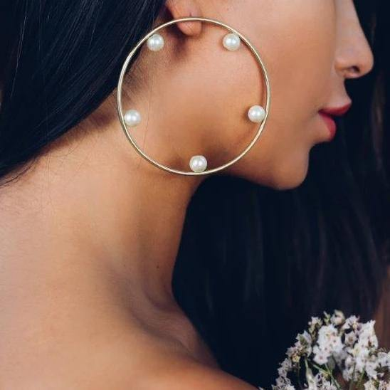 Olia Earrings - Kasha Bali