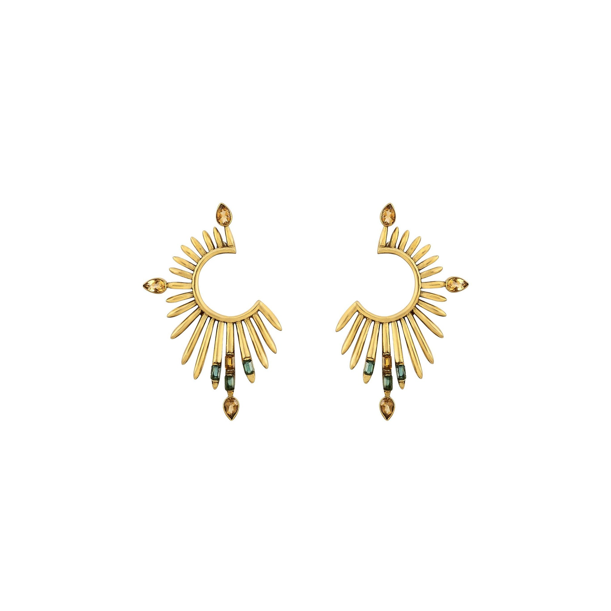 Sora Earrings - Kasha Bali