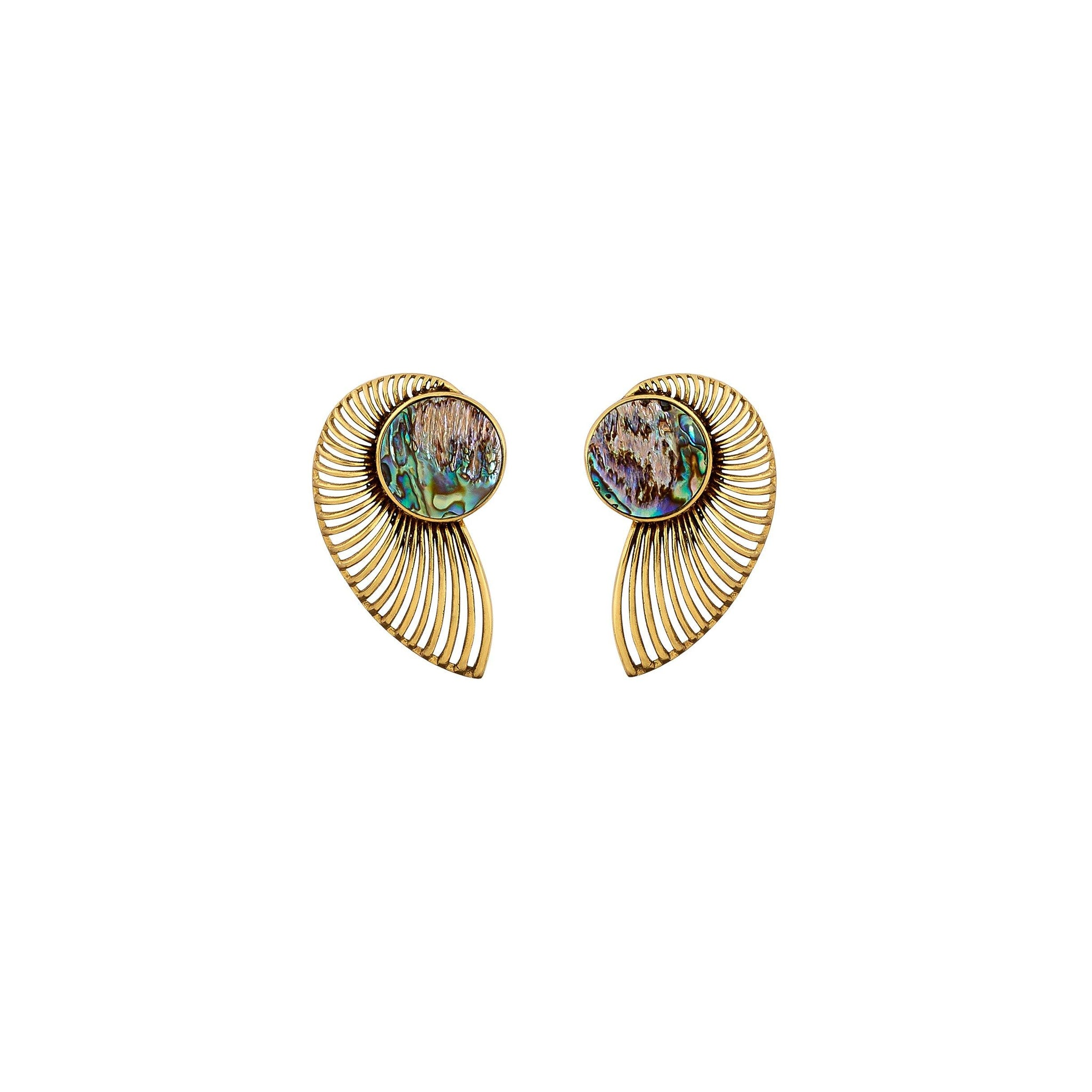 Acra Earrings - Kasha Bali