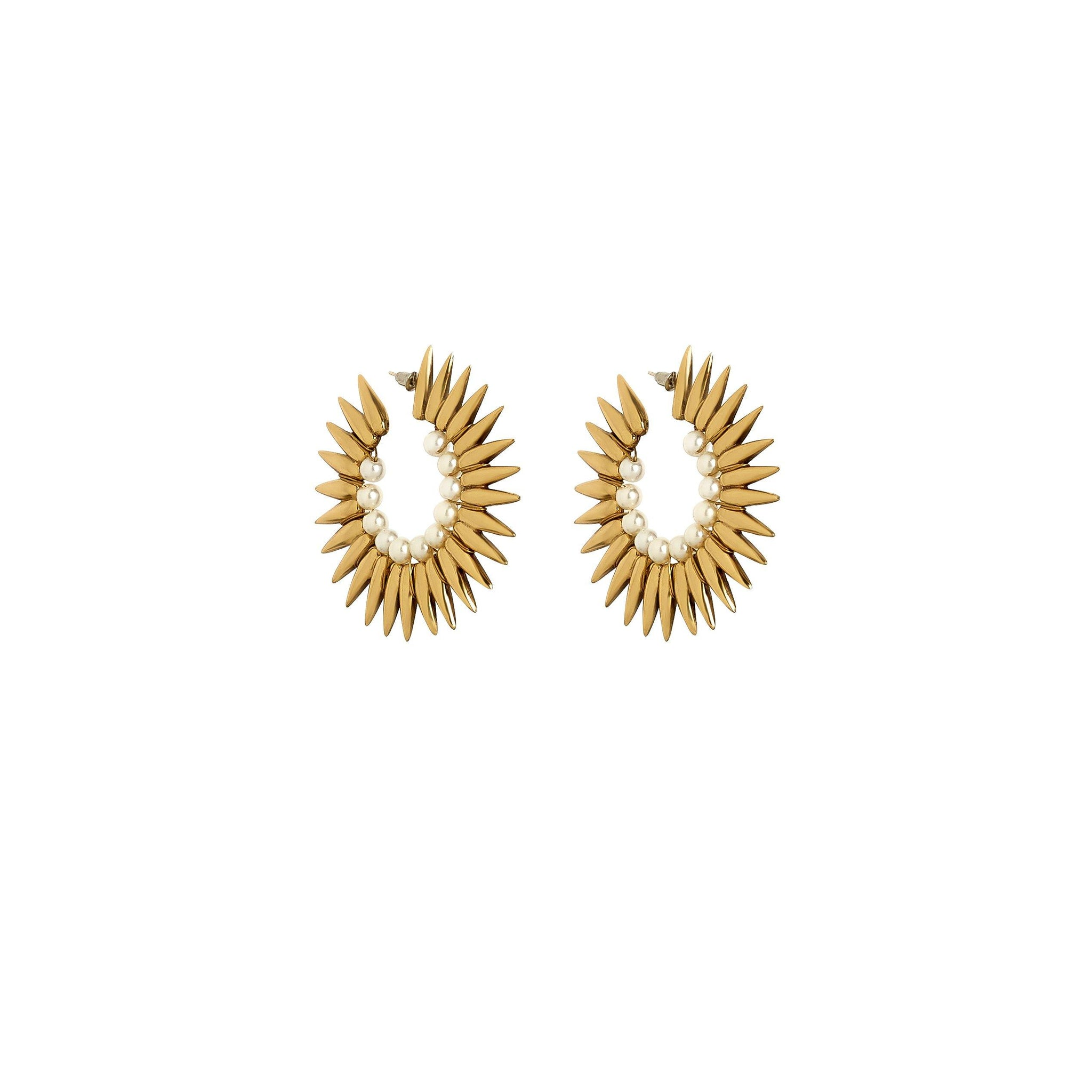 Perla Earrings - Kasha Bali