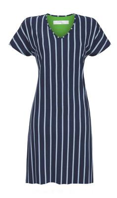 Ringella Navy Stripe Nightdress - CdFAurora