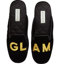 Load image into Gallery viewer, Patricia Green Glam Slippers - CdFAurora
