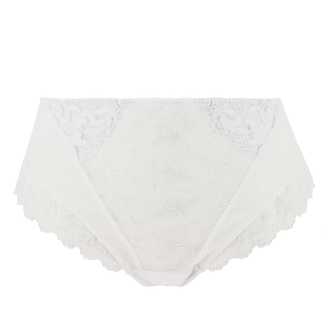 Eprise Arcanthe Guipure White Full Brief - CdFAurora
