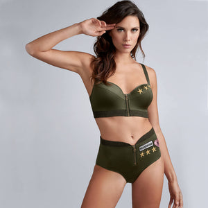 Marlies Dekkers Couture Aviator High Waisted Brief