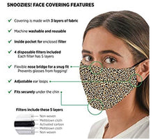 Load image into Gallery viewer, Snoozie's Face Masks - CdFAurora