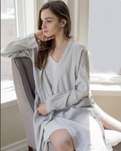Load image into Gallery viewer, Linen Bathrobe - CdFAurora