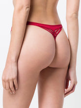 Load image into Gallery viewer, Marlies Dekker's Dame De Paris Red Thong - CdFAurora
