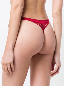 Marlies Dekker's Dame De Paris Red Thong - CdFAurora