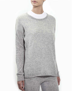 Women's' Pure Light Grey Cashmere Lounge Set - CdFAurora