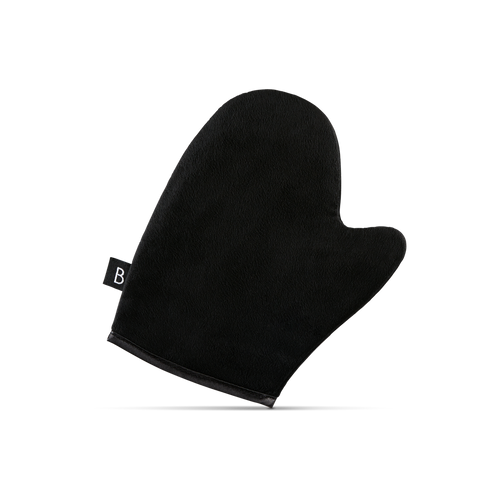 Self tanning mitt for self tanning mousse