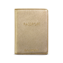 Load image into Gallery viewer, Golden Passport holder