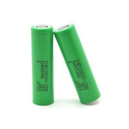 Samsung 25R Batteries - 2 Pack