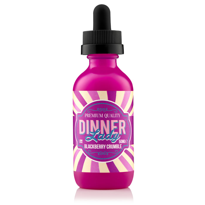 Dinner lady dessert flavours - Blackberry Crumble