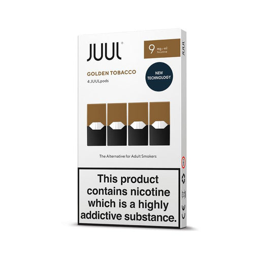 JUUL GOLDEN TOBACCO PODS (PACK OF 4)