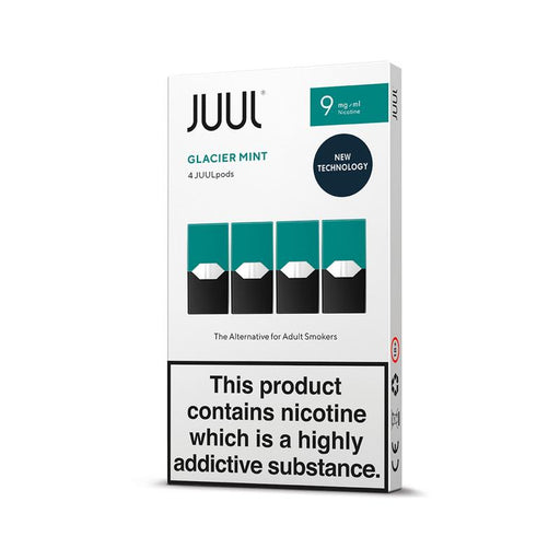 JUUL GLACIER MINT PODS (PACK OF 4)