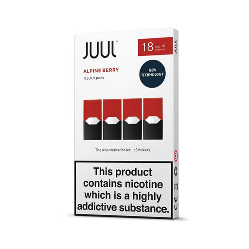 JUUL ALPINE BERRY PODS (PACK OF 4)