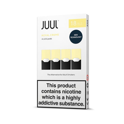 JUUL ROYAL CREME PODS (PACK OF 4)