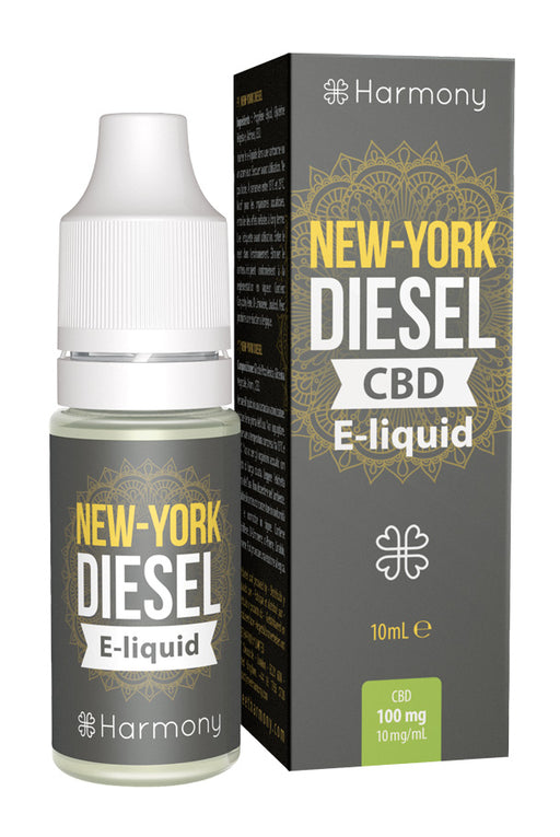 Harmony - Eliquid - New-York Diesel - 100mg CBD