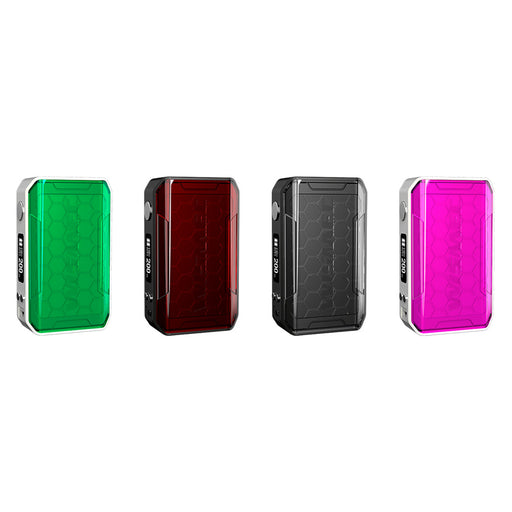 Wismec Sinuous V200 Mod [Red]