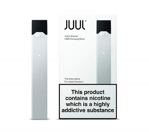 SILVER JUUL DEVICE