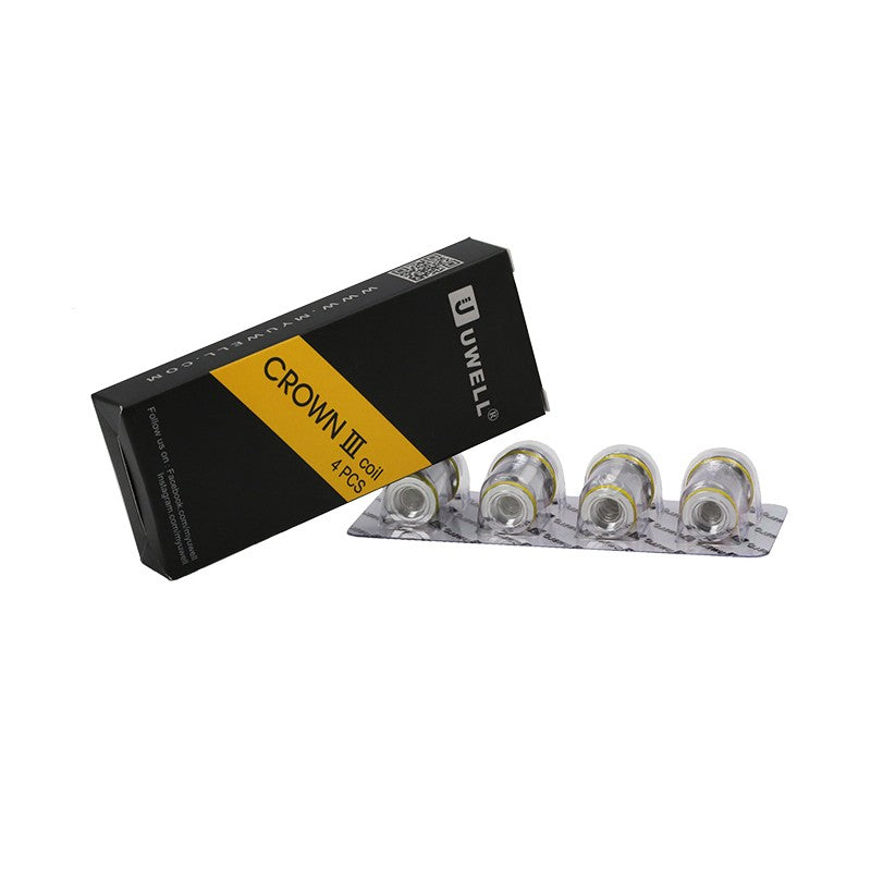 Crown 3 Coils - 4 Pack