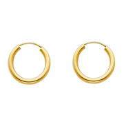 gold hoop earrings cheap