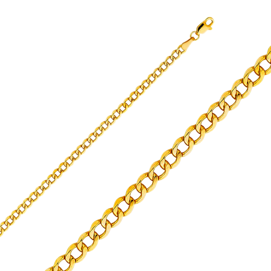 gold cuban necklace