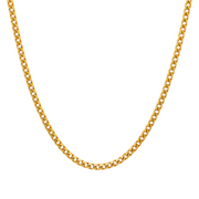 Cuban gold necklace