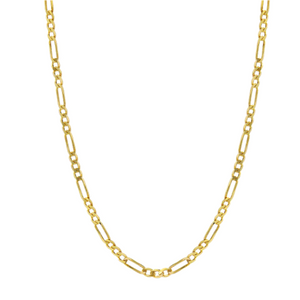 Figaro Chain 14k Gold