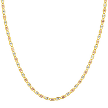 Load image into Gallery viewer, Valentino Star Chain - 14K Solid Gold Tri-Tone